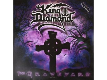 King Diamond -The graveyard DLP with gatefold and large post