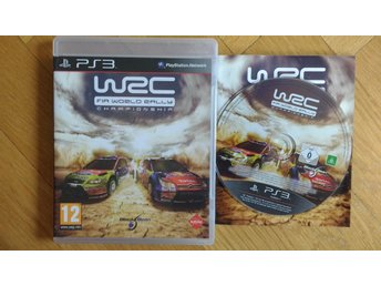 PlayStation 3/PS3: WRC World Rally Championship