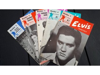 5nr Elvis Monthly  1961