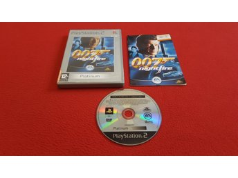 007 NIGHTFIRE till Sony Playstation 2 PS2