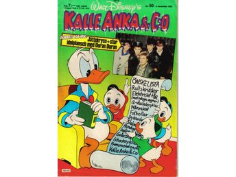 Kalle Anka & Co nr. 50 9:e December 1985 Walt Disney´s