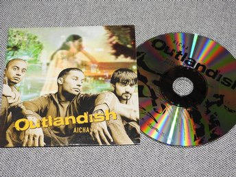 Outlandish - Aicha CD Singel (pappfodral)