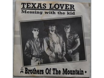 "Texas Lover Brothers Of The Mountain Vinyl 7"" Single 1987"