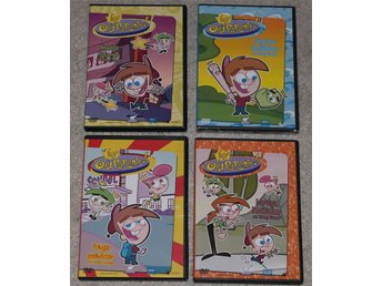 The fairly oddparents / 4 st DVD  5 tim.
