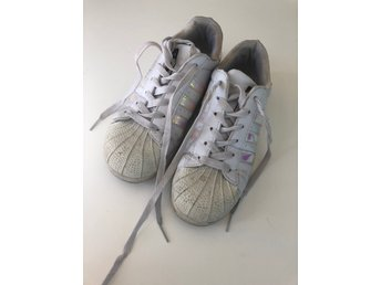 Dam 36 Adidas superstar iridescent sneakers skor