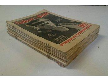 14 st Folket i Bild 1940-1941 - Veckotidning - Riala - 14 st Folket i Bild 1940-1941 - Veckotidning - Riala