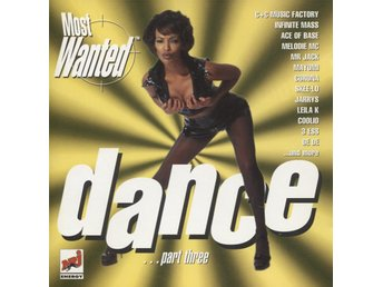 Most Wanted Dance Part Three - 1996 - CD