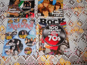 3 ROCK`N ROLL TIDNINGAR  1 CLASSIC ROCK 70 S