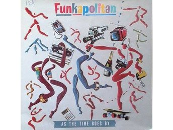 "Funkapolitan title* As The Time Goes By* Disco, Rap, Synth-pop 7"" UK"