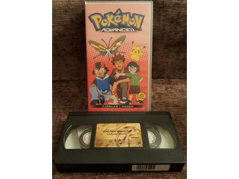 Pokémon Advanced - Fjärilar i magen - VHS