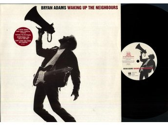 BRYAN ADAMS - WAKING UP THE NEIGHBOURS - 2-LP