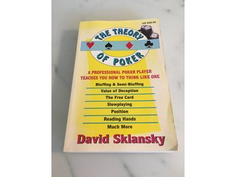 Bok : The Theory of Poker