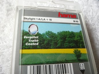 Hama Filter M49 Skylight 1A/LA + 10