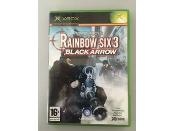 Tom Clancy´s Rainbow six 3 Black arrow Xbox X box Clancys six3 6