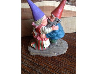 Gnomes Rien Poortvliet original,made in Holland.Trolltyg i tomteskogen. Will&Ann