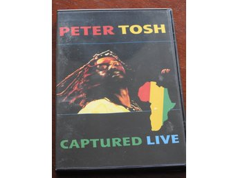 Peter Tosh Captured Live DVD Reggae