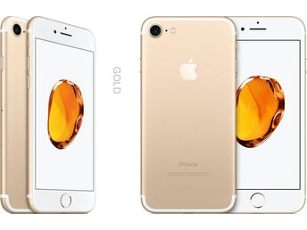 Apple iPhone 7 128GB, guld, gold, RIMLIGT SKICK