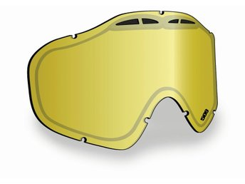 509 Sinister X5 Lens - Gold Mirror/Yellow