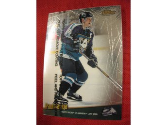 PAUL KARIYA MIGHTY DUCKS OF ANAHEIM - TOPPS FINEST 1998-1999 - 98-99