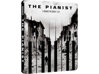 THE PIANIST (Limited STEELBOOK! MEGA-RARE) Adrien Brody (Sv text!) 2002