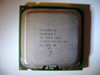 Intel Celeron D 341, 2.93GHz/256/533, SL8HB, Malay, socket T (LGA775)