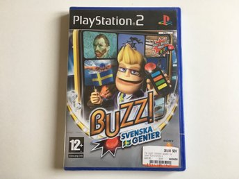 PS2 - Svenska Genier - Tv-Spel