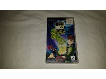 Ben 10: Alien Force - PSP (Komplett!)
