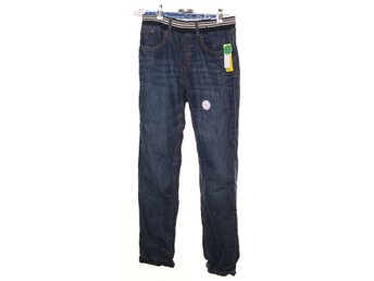 Denim By Lindex, Byxor, Strl: 170, Blå