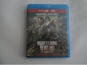 NIGHT OF THE LIVING DEAD - BLU-RAY 3D - ZOMBIES - JEFFREY COMBS