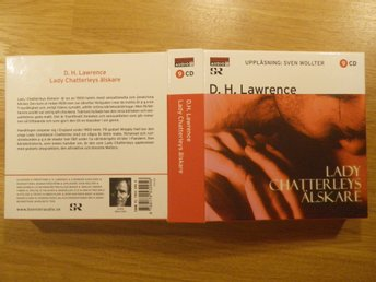 D. H. LAWRENCE - LADY CHATTERLEYS ÄLSKARE - UPPLÄSARE SVEN WOLLTER 9 CD 10,5 TIM