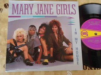 "MARY JANE GIRLS - IN MY HOUSE 7"" 1985"