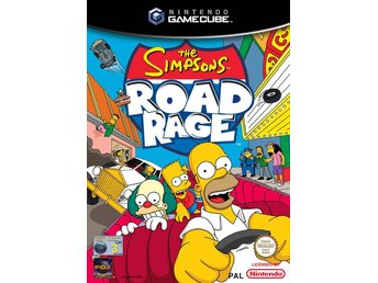 Simpsons: Road Rage - Gamecube