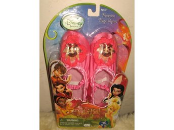 Disney Fairies - Rosa Tingeling tofflor Slippers Barbie skor