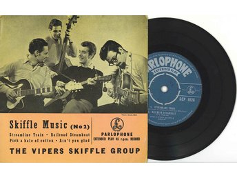 THE VIPERS SKIFFLE GROUP*ORIG:UK-EP *Streamline train*LYSSNA