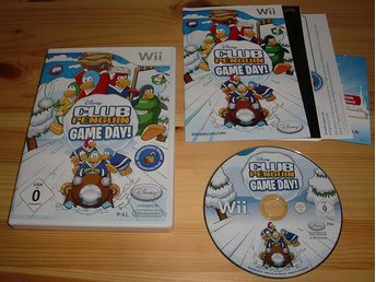 Wii: Disney Club Penguin Game Day!