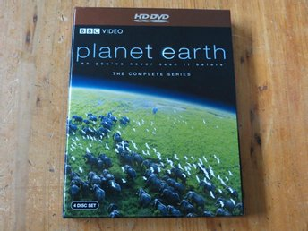 PLANET EARTH - THE COMPLETE SERIES (4-disc HD DVD)