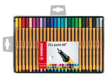 Stabilo Point 88 Fineliner 25-pack