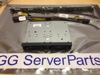 HP 8disk Backplane-kit för Proliant DL360 G6 G7 516966-B21