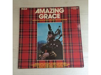 AMAZING GRACE (PIPES DRUMS & MILITARY BAND OF SCOTTISH DIVISION. (LP)