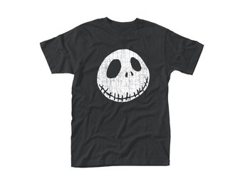 NIGHTMARE BEFORE CHRISTMAS, THE CRACKED FACE T-Shirt - Large