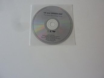 U2 AND GREEN DAY - THE SAINTS ARE COMING CD-SINGEL PROMO