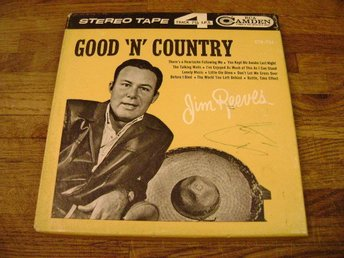 "RULLBAND JIM REEVES GOOD ""N"" COUNTRY"