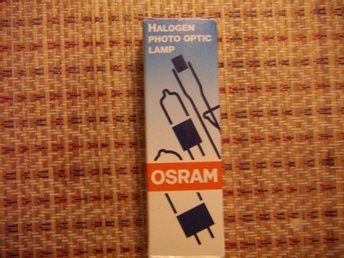 Osram 93592 FSX 230v 400w projektorlampa / studiolampa halogen photo optic