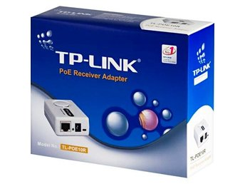 TP-LINK PoE (Power Over Ethernet) mottagare 5 resp 12volt