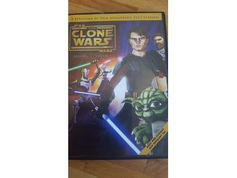 DVD. The Clone Wars. Animerad.