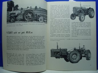 Ä.Tidskrift Traktor Journalen nr 6/1959 BE GE-BOLINDER MUNKTELL-RILA  mm
