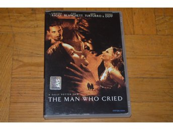 The Man Who Cried ( Christina Ricci Johnny Depp Cate Clanchett ) 2000 - DVD