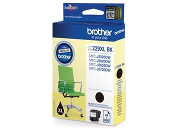FP Brother LC229XLBK Black, 2400 sid.