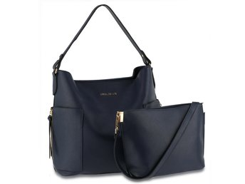 Women's Shoulder Bag With Pouch