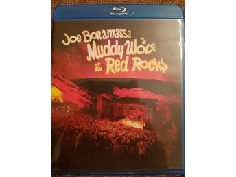 Blu-ray Konsert Joe Bonamassa Muddy Wolf at Red Rocks